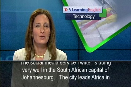 Johannesburg Leads Africa in Twitter Usage