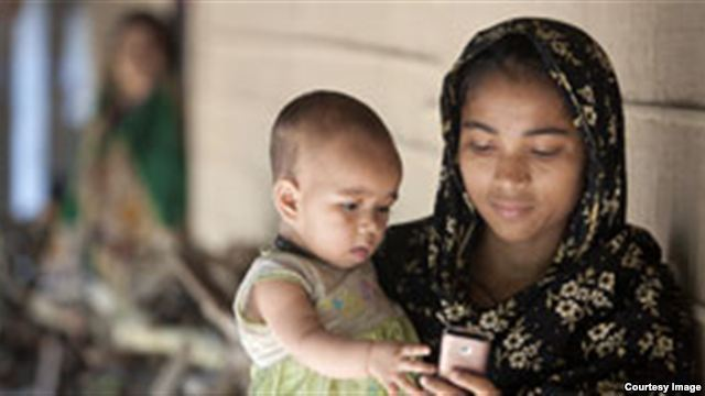 Using a Mobile Phone to Improve Mother and Child Health