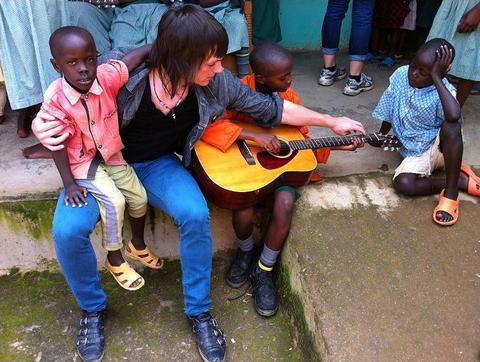 American Music Students In Kenya