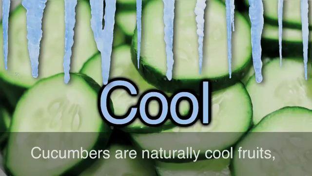 Cool as a Cucumber - Hết sức bình tĩnh