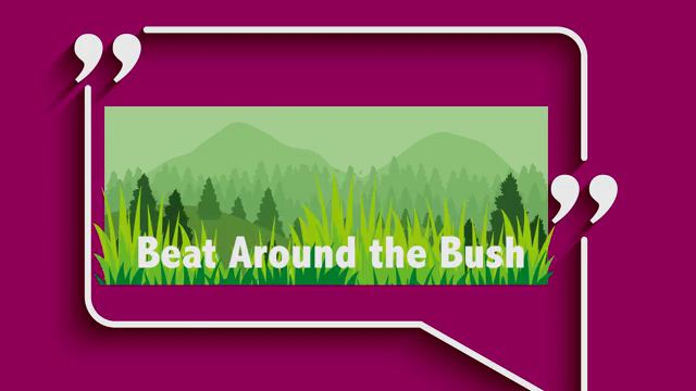 Beat Around the Bush - Vòng vo tam quốc