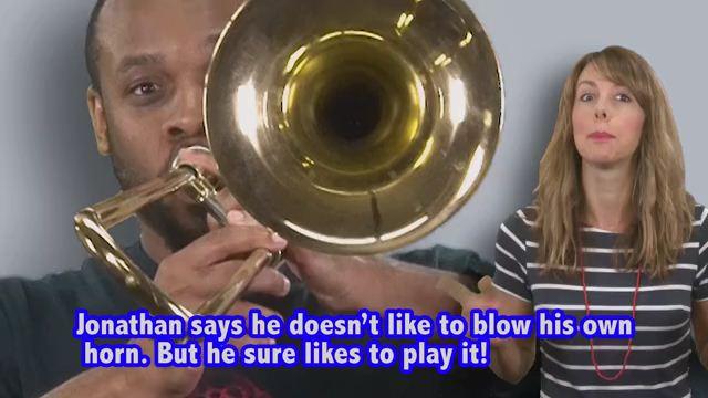Blow Your Own Horn - Khoe khoang