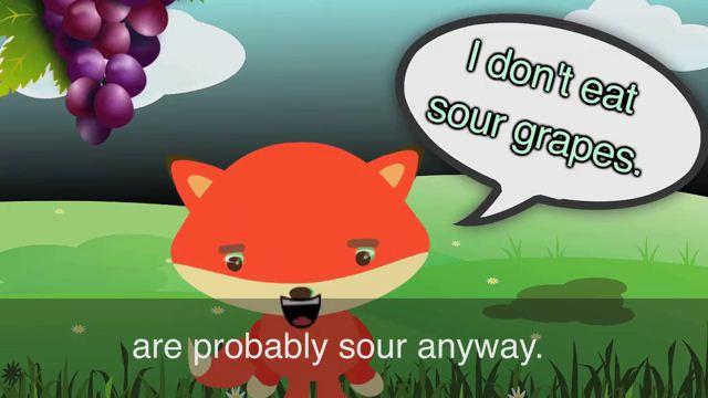 Sour Grapes - Nho xanh chẳng đáng miệng người phong lưu