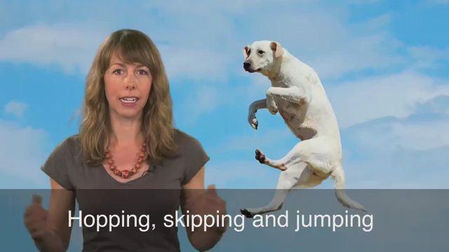 Hop, Skip and a Jump - Cách mấy bước chân