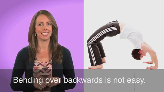 Bend Over Backwards - Nỗ lực hết mình