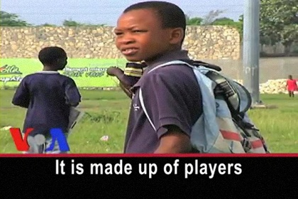In Haiti, a Soccer Team for Amputees