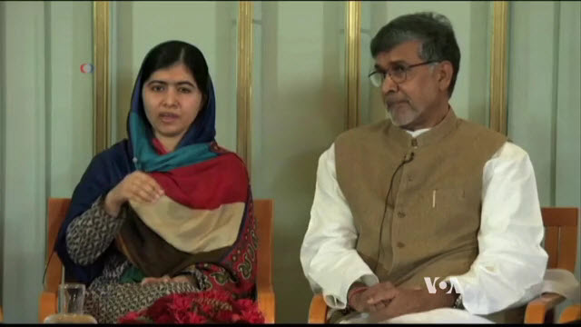 Nobel Peace Prize Winners Call for Action on Children's Rights