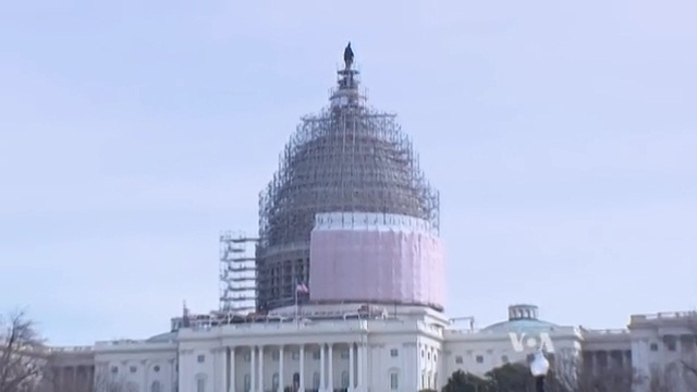 150-Year-Old US Capitol Dome Being Restored