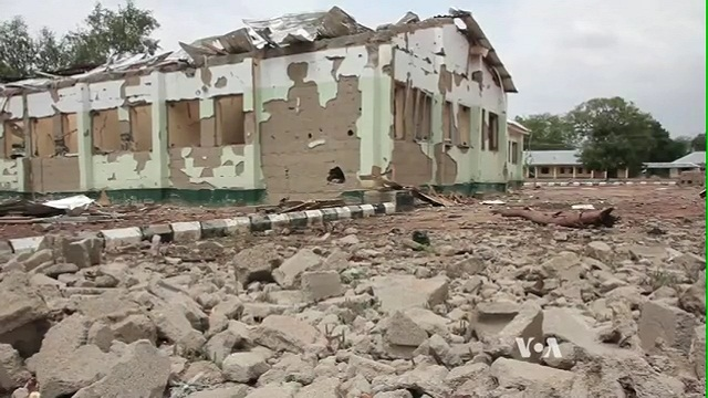 Displaced Nigerians Return Home to Find Ruin