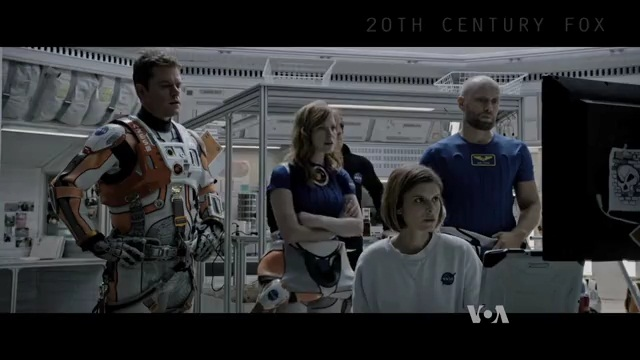 Martian Science Fiction Film Hopes to Inspire New Scientists