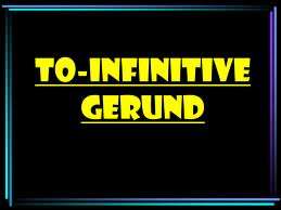 Part 6 - Gerund and Infinitive 3
