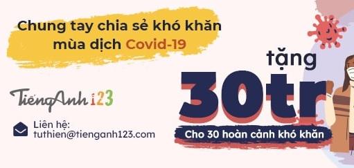 Chương trình từ thiện dịch Covid-19