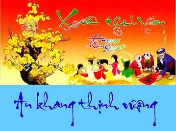 Chúc mừng năm mới và thông báo lịch nghỉ tết Nhâm Thìn