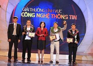 Ứng dụng Tiếng Anh 123 giành giải 3 trong cuộc thi Nhân Tài Đất Việt 2015