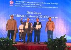 TiếngAnh123 đạt giải Vàng CNTT-Truyền Thông ASEAN 2015