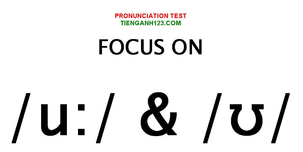Elementary Pronunciation Test 2
