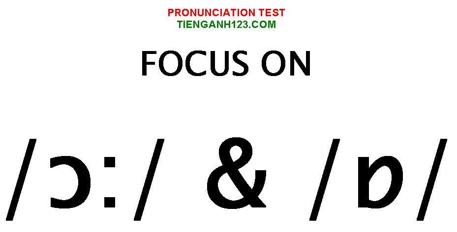 Elementary Pronunciation Test 4