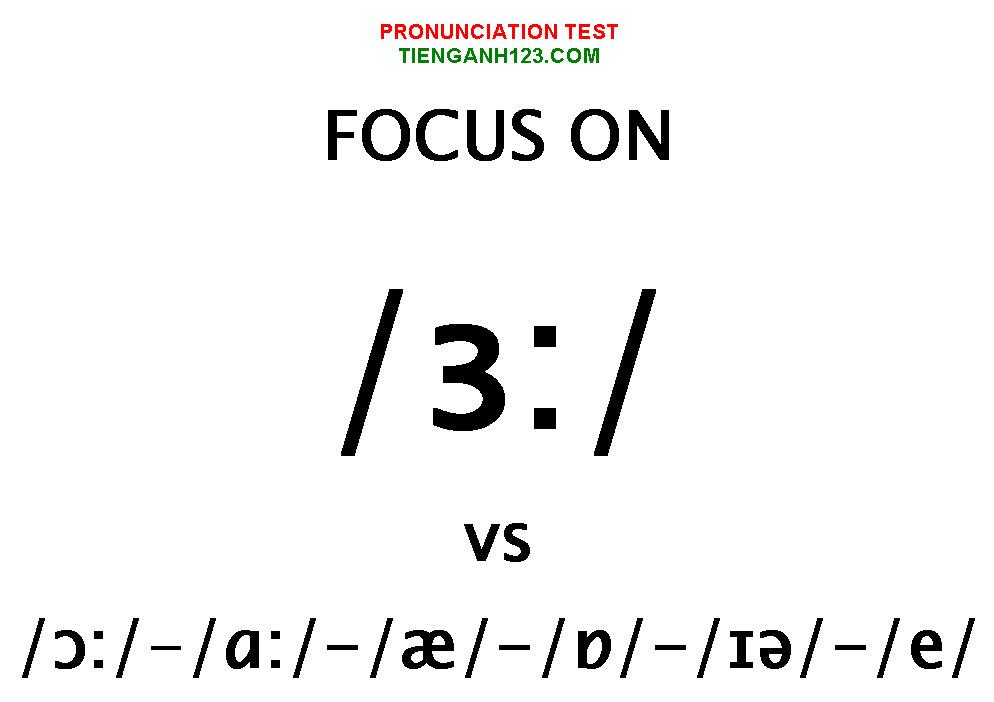 Elementary Pronunciation Test 5