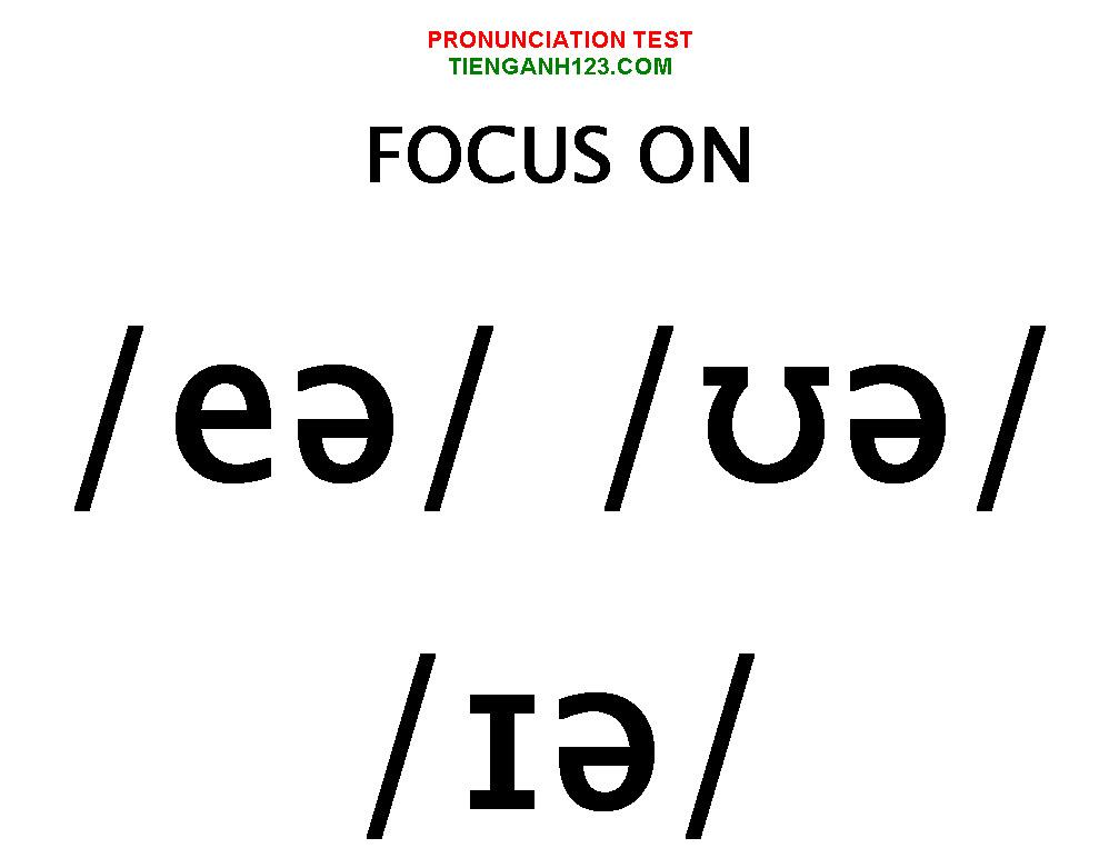 Elementary Pronunciation Test 6