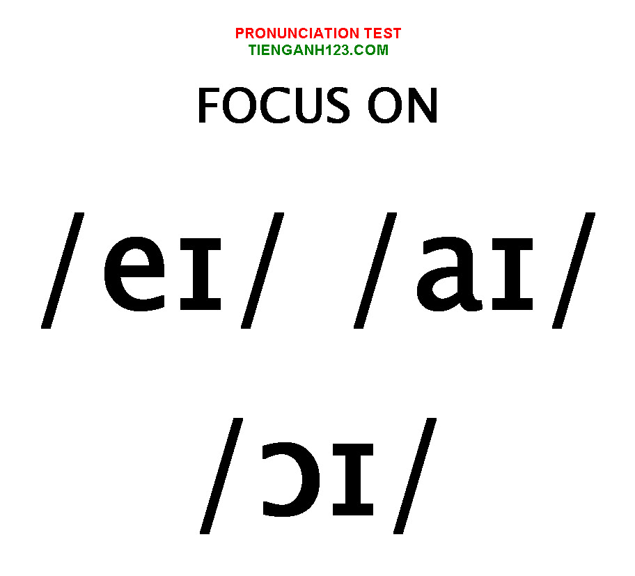 Elementary Pronunciation Test 7