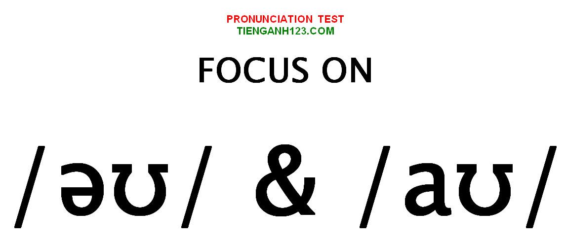 Elementary Pronunciation Test 8