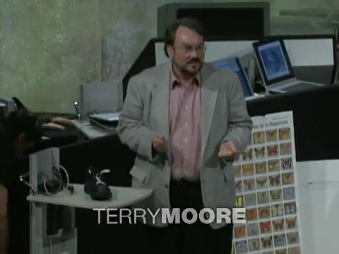 Terry Moore: How to tie your shoes?