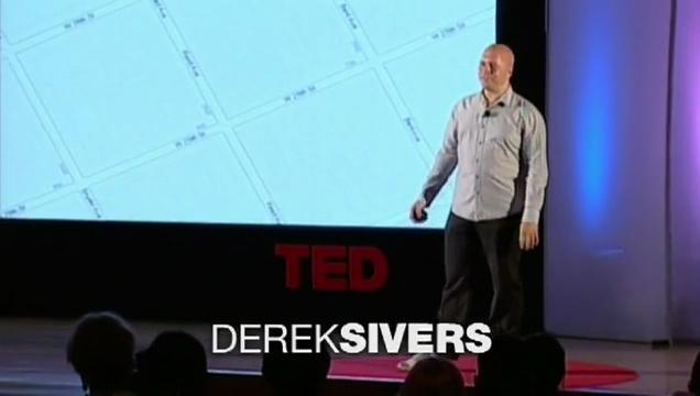Derek Sivers: Weird, or just different?