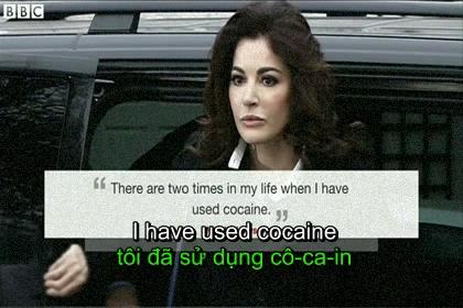 Nigella Lawson admits taking cocaine