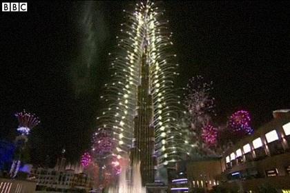 Fireworks Mark New Year Around World