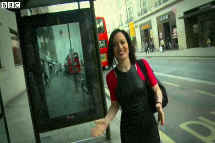How Aliens and Monsters 'Invaded' a London Bus Stop