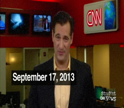 CNN Student News 17/09/2013