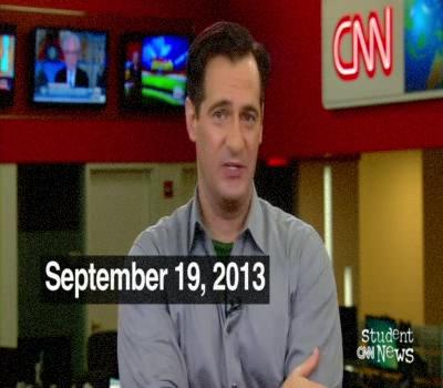 CNN Student News 19/09/2013