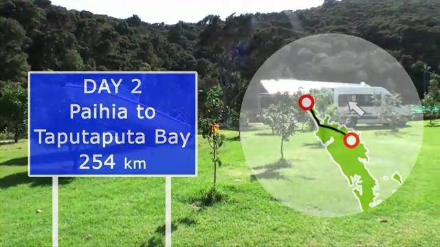 Day 2: Paihia to Taputaputa Bay