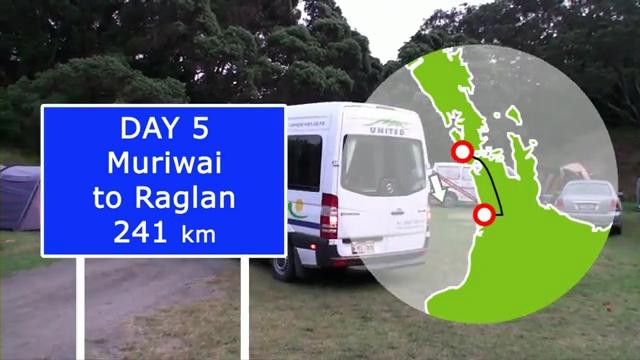 Day 5: Muriwai To Raglan