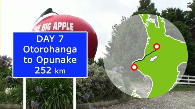 Day 7: Otorohanga To Opunake