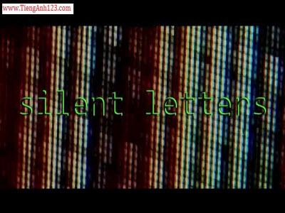 Unit 71 - Silent Letters