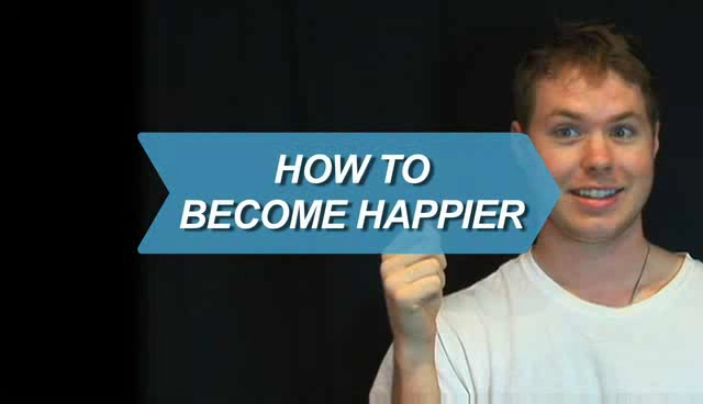 How to become happier