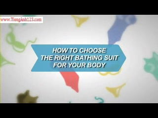 How To Choose the Right Bathing Suit For Your Body