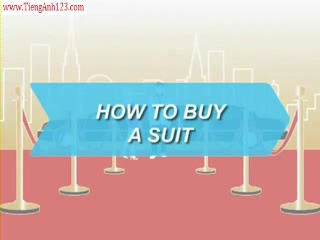 How to buy a suit