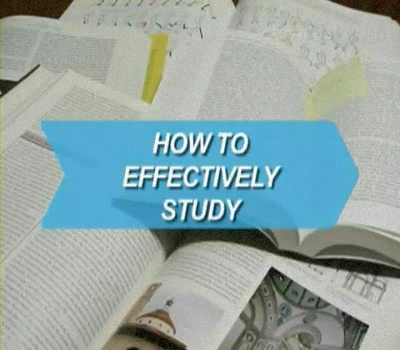 How to Effectively Study