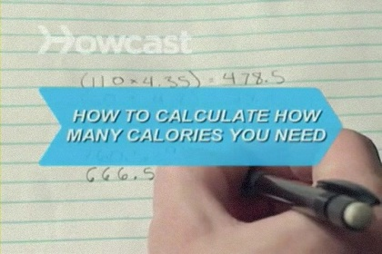 How to Calculate How Many Calories You Need